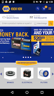 NAPA AUTO PARTS- screenshot thumbnail