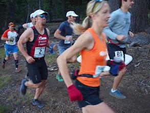 Photo: 2011 runner-up Natalie Bak at the start