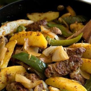 Easy Italian Sausage and Potato Skillet