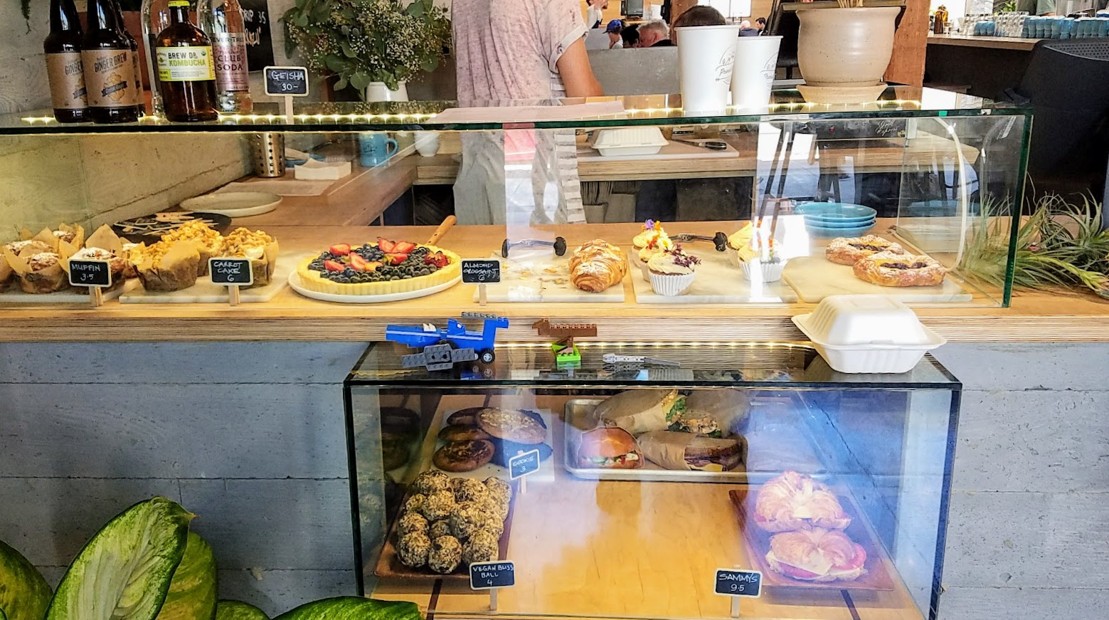Proud Mary's Pastry and Sandwich Display Case