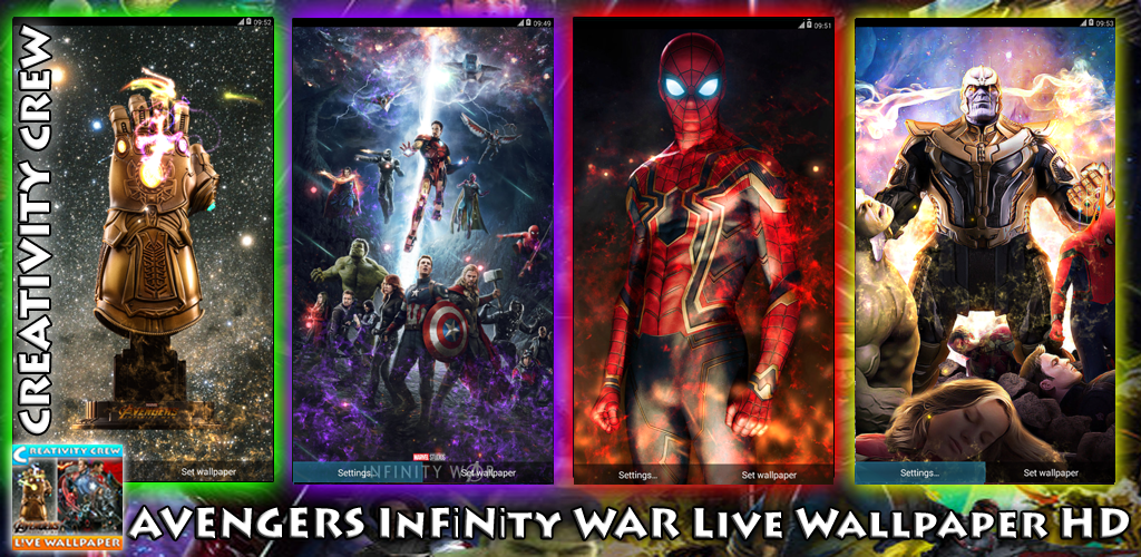 Download Avengers InFinity WaR Live Wallpaper HD APK Latest Version App For Android Devices