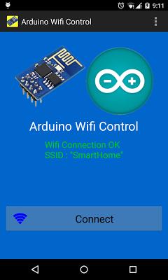 Arduino WiFi Control (ESP8266) - screenshot