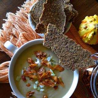 Creamy Potato & Cauliflower Soup