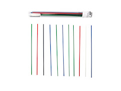 ABS Strands for 3Doodler Variety Pack 40 Strands - 3.00mm