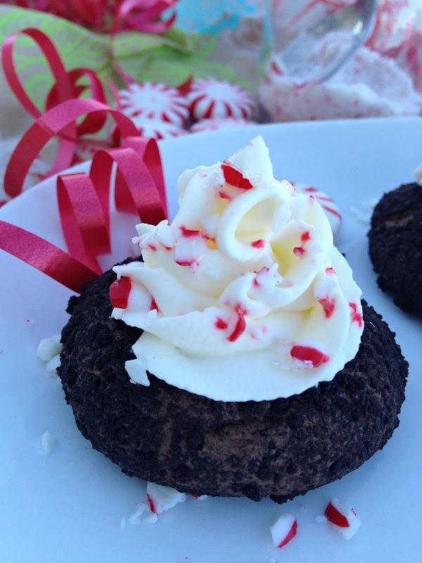 Chocolate Peppermint Cheesecake Cookies Recipe