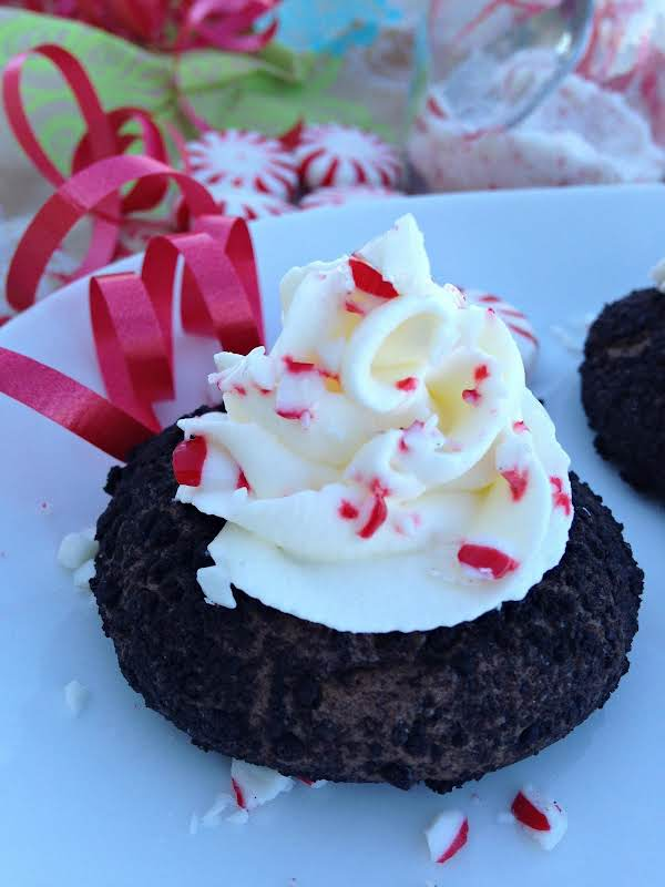 Chocolate Peppermint Cheesecake Cookies Recipe