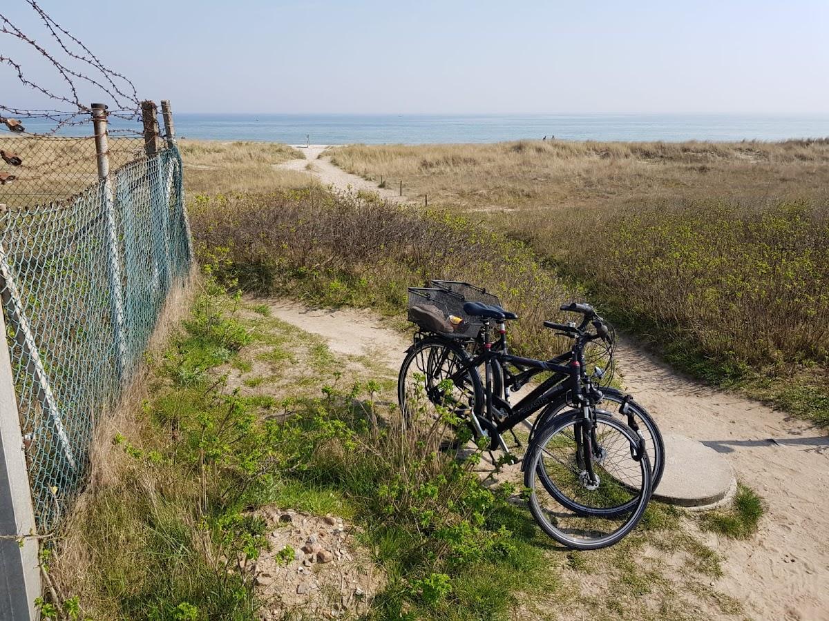 Der Weg zum Weidefelder Strand
