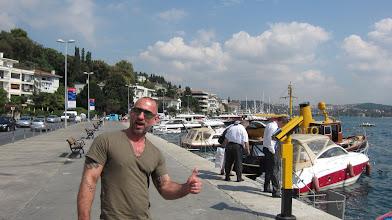 Photo: walking along the Bosphorus - Olaf