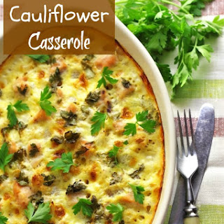 Chicken Cauliflower Casserole Recipes