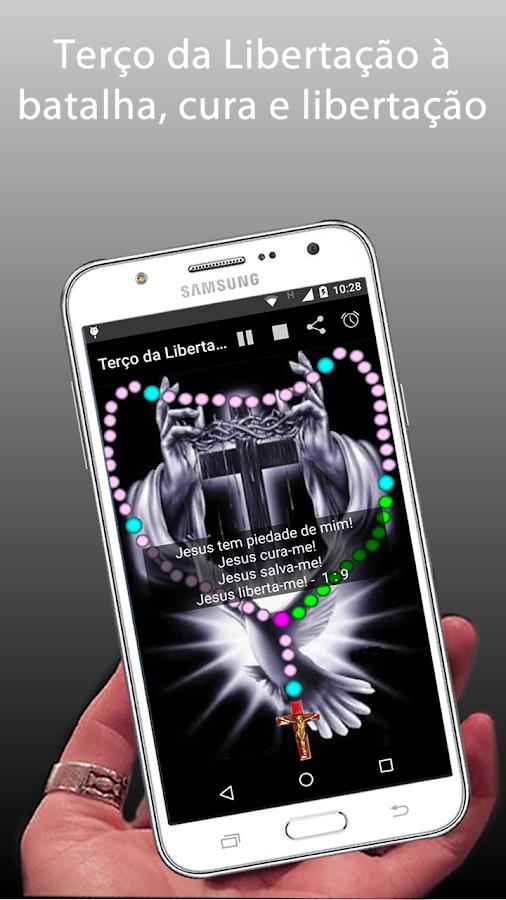 Screenshots of Terço da Libertação com audio for iPhone