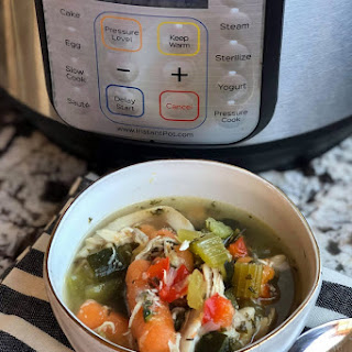 5 Minute Low Carb Chicken Soup.