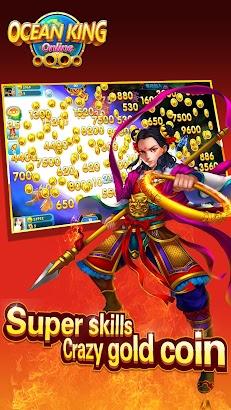 Ocean King online-pocket fishing slot machine screenshot
