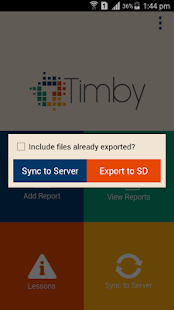 TIMBY- screenshot thumbnail