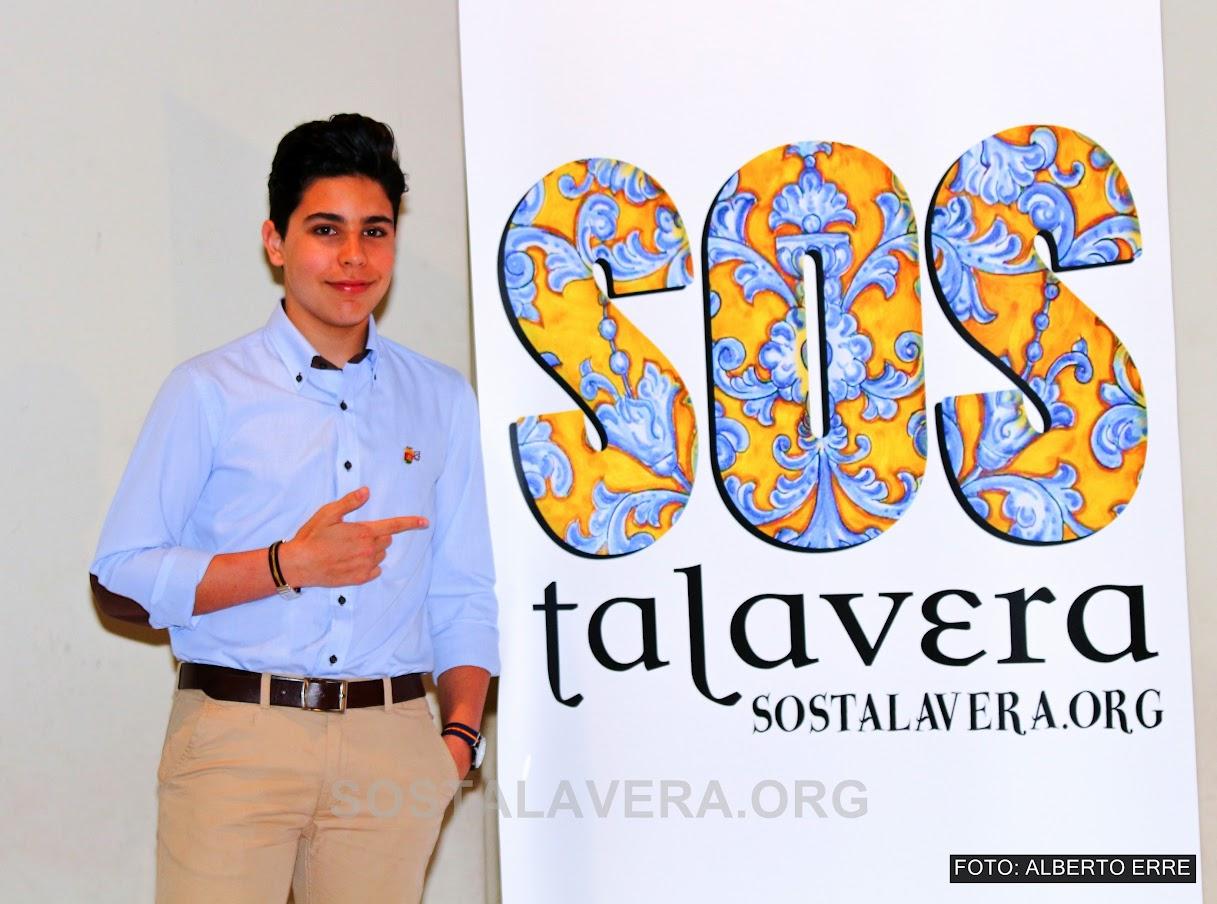alvaro cabo en la presentacion de SOS Talavera
