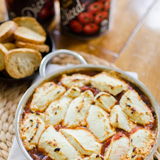 Fire Roasted Tomato And Goat Cheese Dip