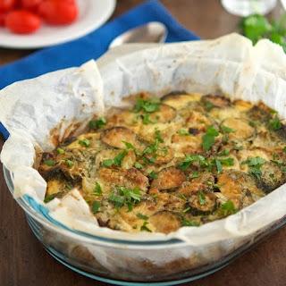 Sauteed Broccoli and Zucchini Casserole