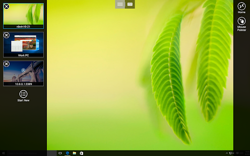 Microsoft Remote Desktop Beta Screenshot