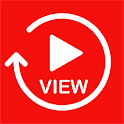 UView - Share your video to people - Get free view icon