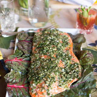 Foolproof Salmon Baked with Olive Oil & Herbs