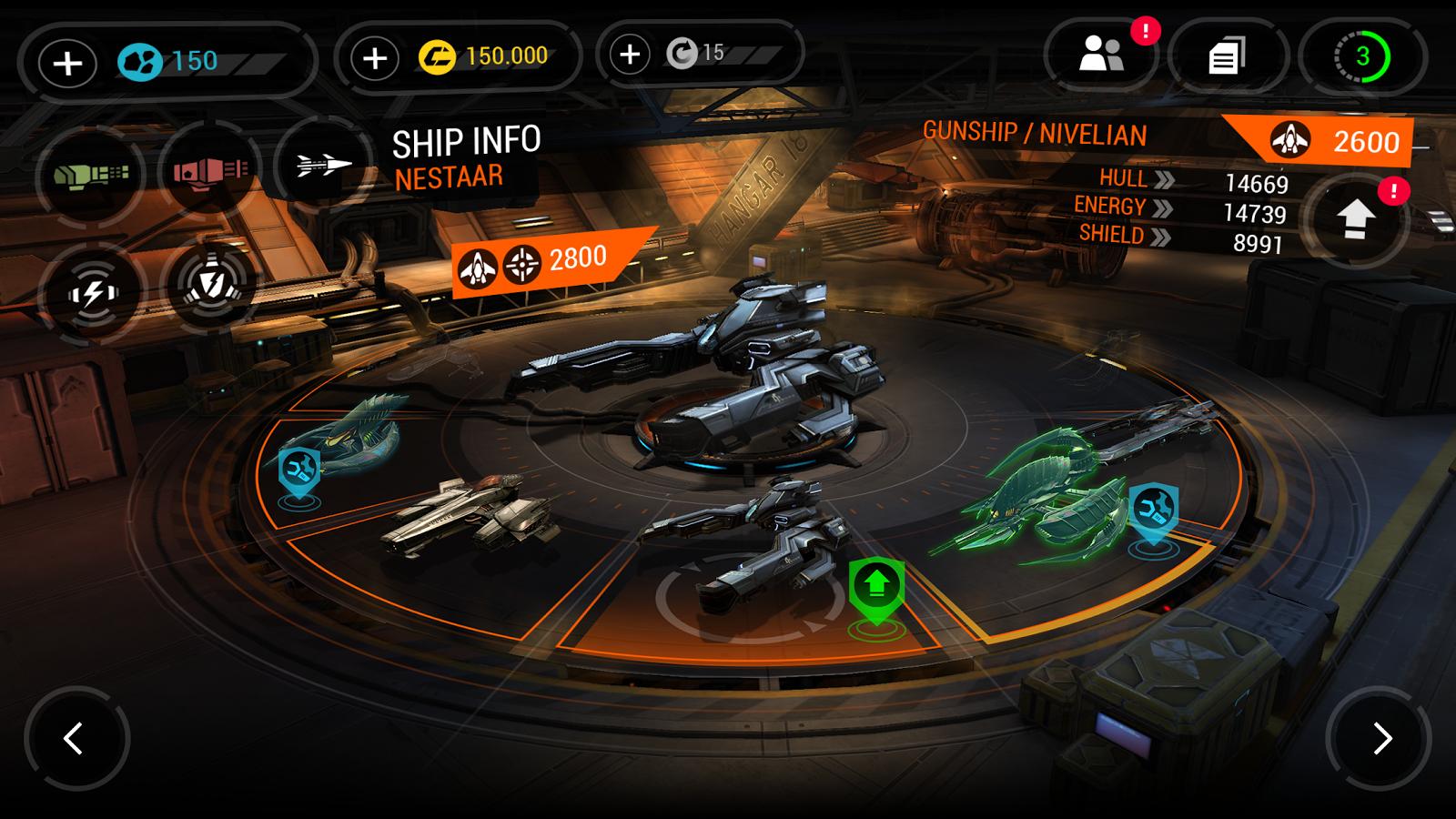 Galaxy on Fire 3 - Manticore- screenshot
