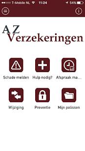 AZ Verzekeringen App - náhled