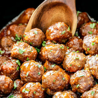 Honey Buffalo Meatballs (Slow cooker)