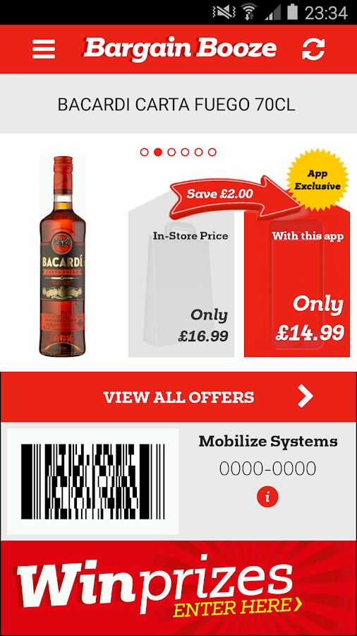 Bargain Booze- screenshot