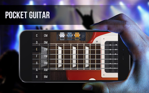 Real guitar - guitar simulator with effects 1.7.1 screenshots 1
