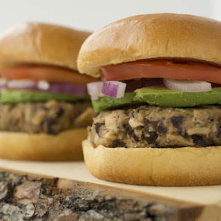 Black Bean Tuna Burger