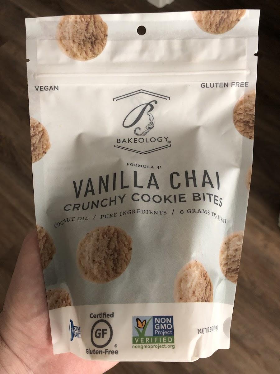 Vanilla Chai Crunchy Cookie Bites