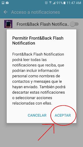 Front&Back Flash Notifications 38.0 screenshots 5