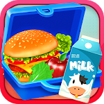 School Lunch Box - Lunch Box Maker Icon