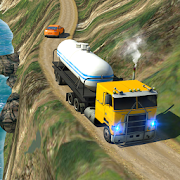 Oil Tanker Truck Simulator: Hill Driving