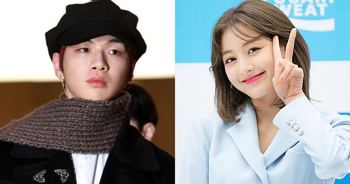 kang daniel scarf jihyo