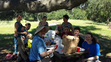 Photo: On Sunday we met up with Sam and her family (and also Ryan, not pictured) for a hike and picnic at Quicksilver