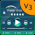 Water drop PlayerPro Skin icon