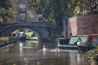 Photo: Canal side atmosphere in Kidderminster