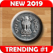Indian Rupee Coin Toss 3D: Flip Free? Free 2019? Android APK Download Free By WrapApp