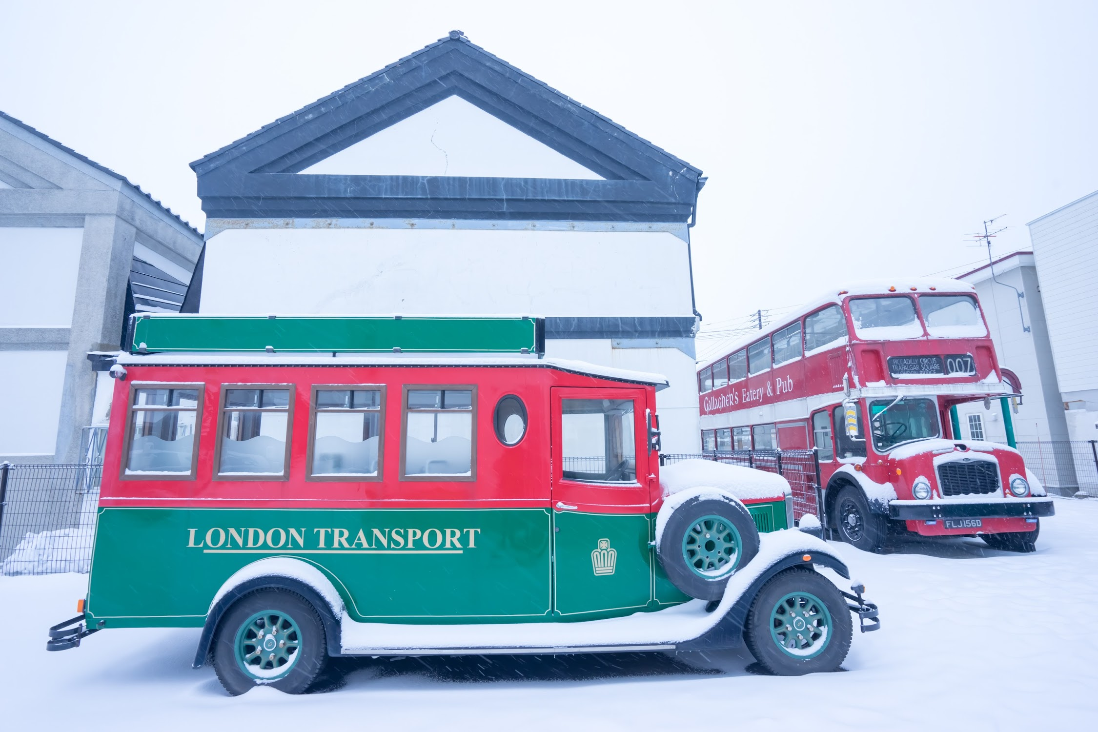 Hakodate London bus