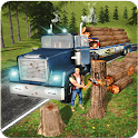 Wood Cargo Trailer Truck 2017 icon