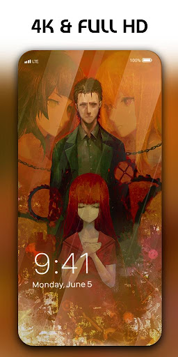 Screenshot for Steins Gate Live Wallpaper in United States Play Store