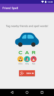 Friend Spell - Nearby API- screenshot thumbnail