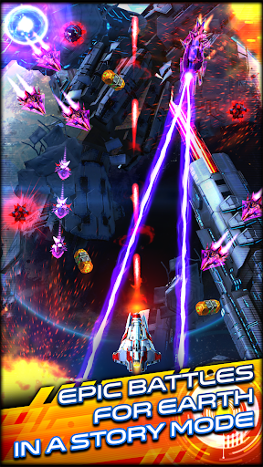 Space Warrior: The Origin screenshot 1