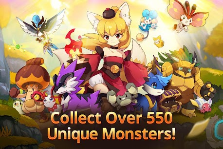 Monster Super League 1.0.18102505 Mod Apk [God Mod/ High Attack] 2