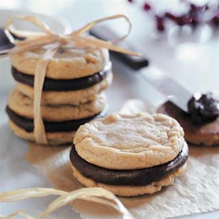 Fudge-Filled Irresistible Peanut Butter Cookies.