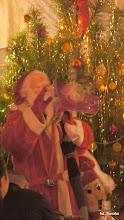 Photo: A po pierwszych daniach przybył Mikołaj