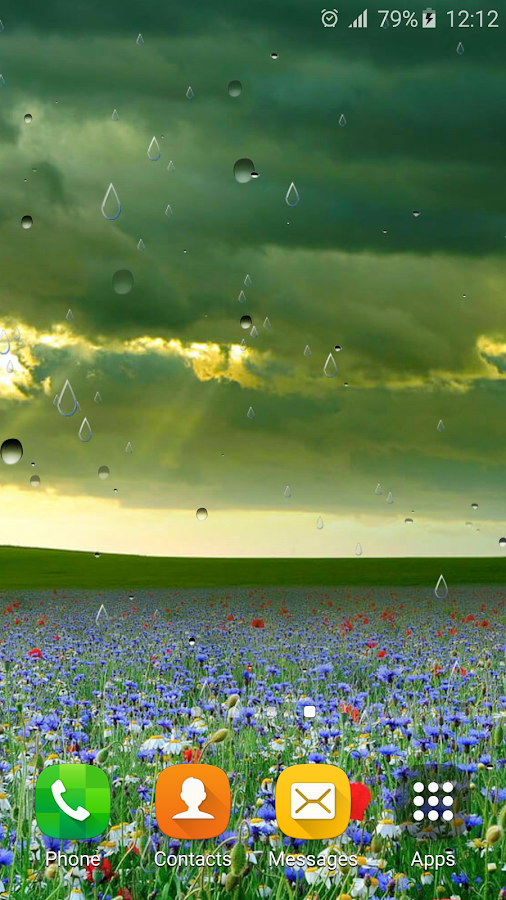 spring rain live wallpaper android apps on google play
