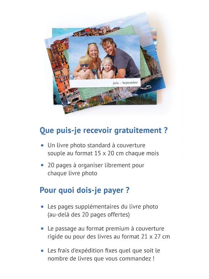 FreePrints Photobooks - Livres photo gratuits- screenshot