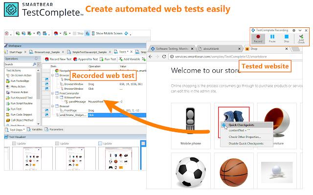 SmartBear Test Extension