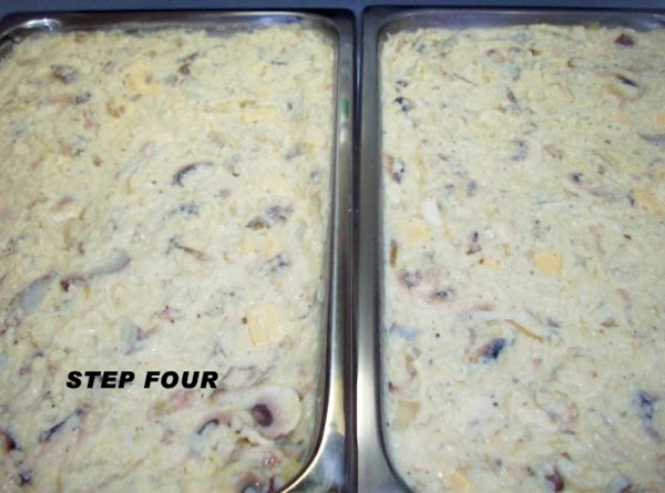 Now, add the milk a little at a time, mixing well after each addition....